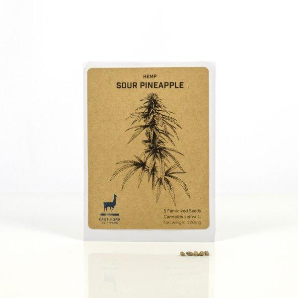 East Fork Cultivars Sour Pineapple Hemp Feminized Seeds
