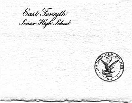 East Forsyth Senior High School Class of 1979 Graduation