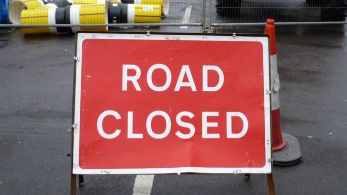 Dew Lane closed