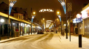 high street snow