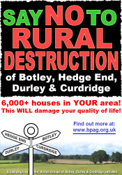 Botley Action Parish Group Poster