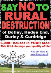 Botley Action Parish Group Poster