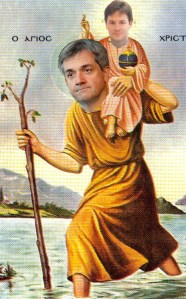 Saint Christopher Huhne