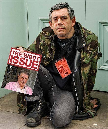 Gordon Brown, Bigot Issue,