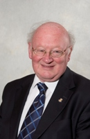 John Caldwell, mayor of Eastleigh