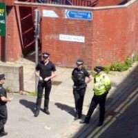 Handgun arrest in Town Centre