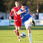 Jamie Slabber scored a consolation against Welling