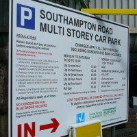 New charges for disabled and Sunday parking