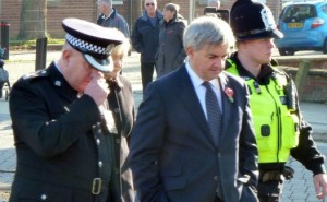 Chris Huhne and Police