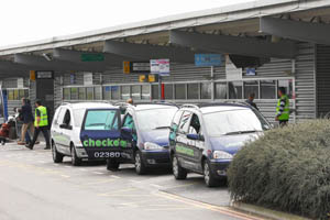Taxi's at Southampton Airport