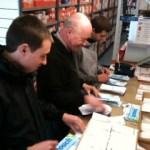 Preparing leaflets