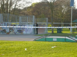 Fleming park assault: Scene of crime officer