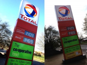 Passfield avenue total garage prices