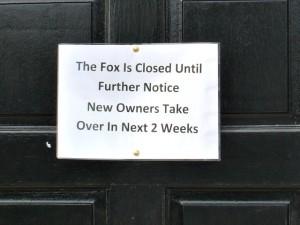 Note on Fox Door