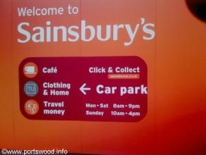 sainsburys portswood