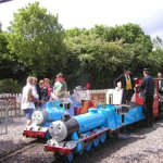 Thomas the Tank engine Eastleigh Lakeside Railway