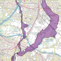 EASTLEIGH ON FLOOD ALERT