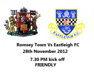 Romsey Town FC Vs Eastleigh