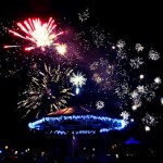 Eastleigh Bandstand Christmas fireworks 2012