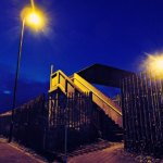 Archers Road Railway Footbridge