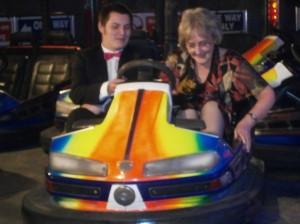 Jenny and the dodgem car2