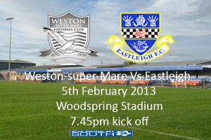 Weston-super-Mare Vs Eastleigh tonight