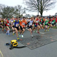 Eastleigh runners defy cold in B&Q 10K