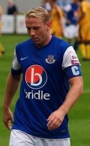 Captain Glen Southam scored East