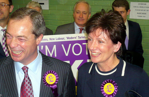 Farage and James could have something to smile about in 2015