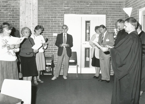 Chandler's Ford Methodist church 1993 - Do you know any of these people?