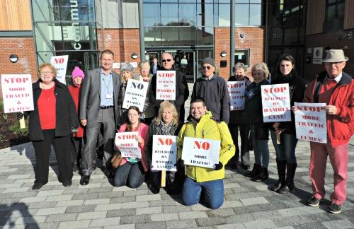 Lowford protest