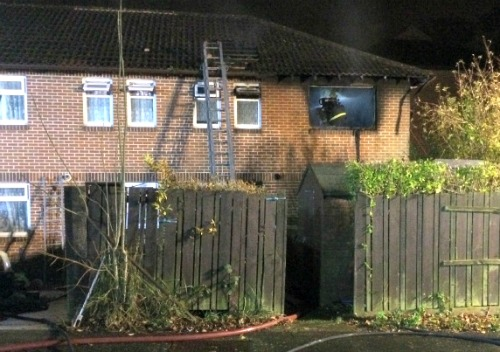 Waterlooville House fire