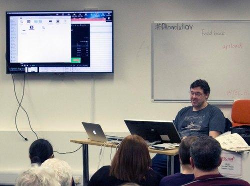Author Marcus Pullen at Tec Hub
