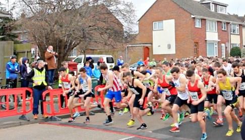 Eastleigh 10k 2016 start