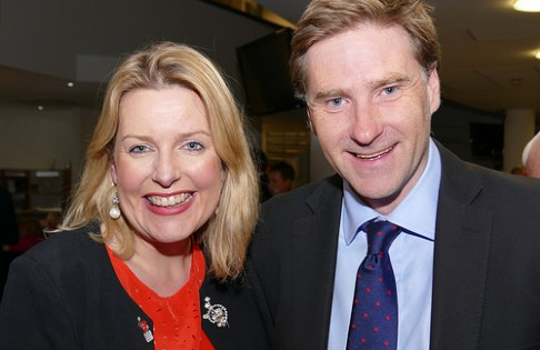 Easrleigh's MPs Mims Davies and Steve Brine