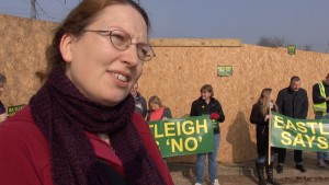 Caroline Pearce: We don't want a Motorway service station