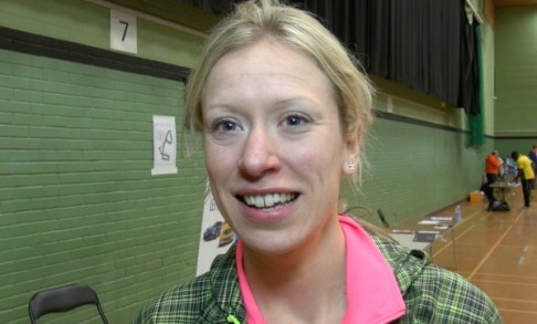 'Come on finish line!' New course record holder Laura Whittle