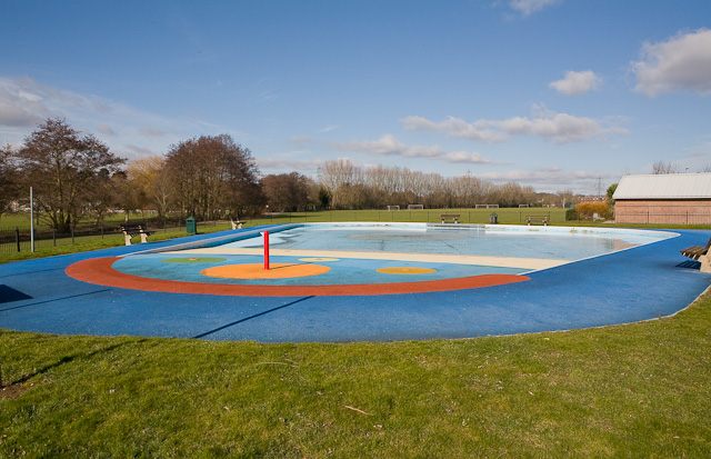 Fleming Park Paddling Pool closed