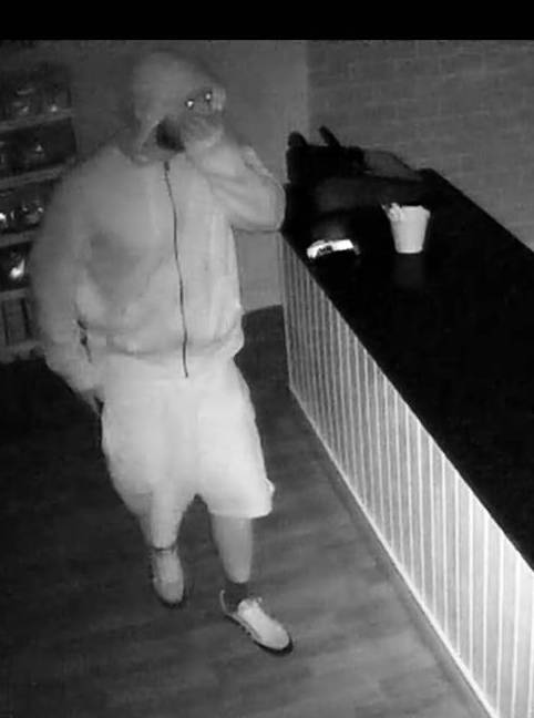 Do you recognise this man? Police would like to speak to him?