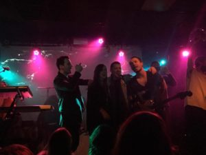 Members from Greywind, and Natives joined Farro on stage