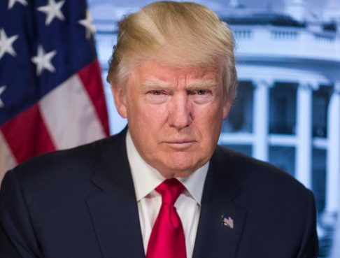 Donald Trump official portrait