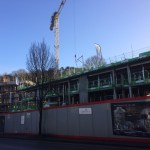 Chesil Lodge construction February 2017