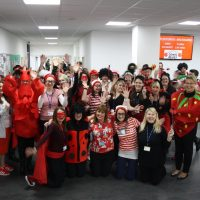 Eastleigh College make laughs count for Comic Relief!