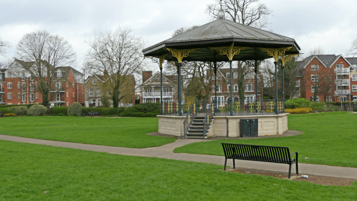 Bandstand Leigh Rd Rec 173