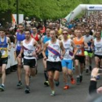 City celebrates biggest running event on record