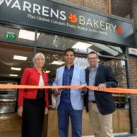 Town welcomes oldest cornish pasty maker