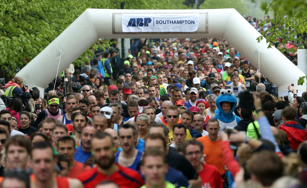 Route for this year's Southampton Marathon unveiled