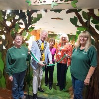 Mayor of Eastleigh officially opens new Woodland Cafe