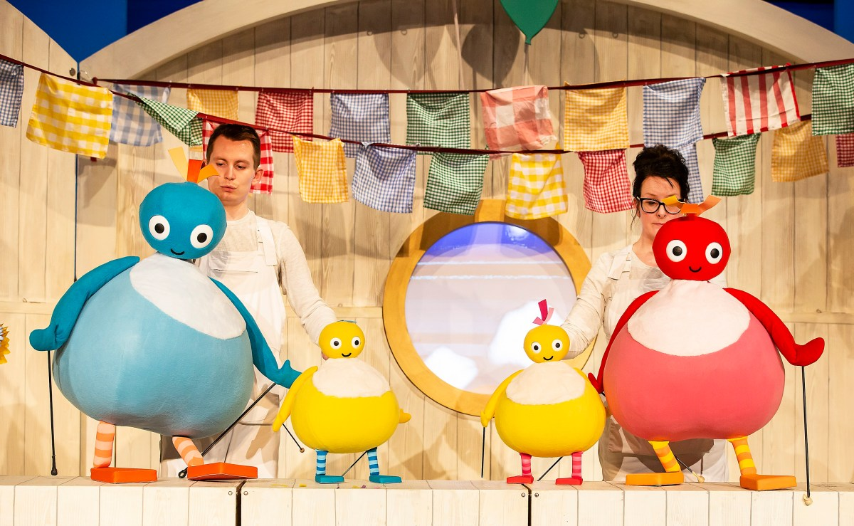 Cbeebies favourites, The Twirlywoos, set sail to Winchester
