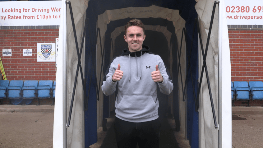 Sam Matthews returns to Eastleigh on loan